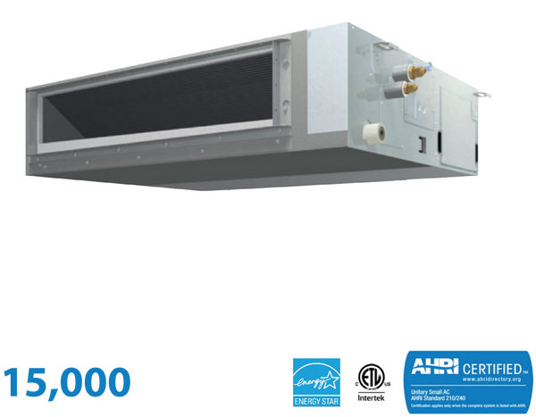Daikin 15,000 BTU Mid-Static Slim Duct Unit
