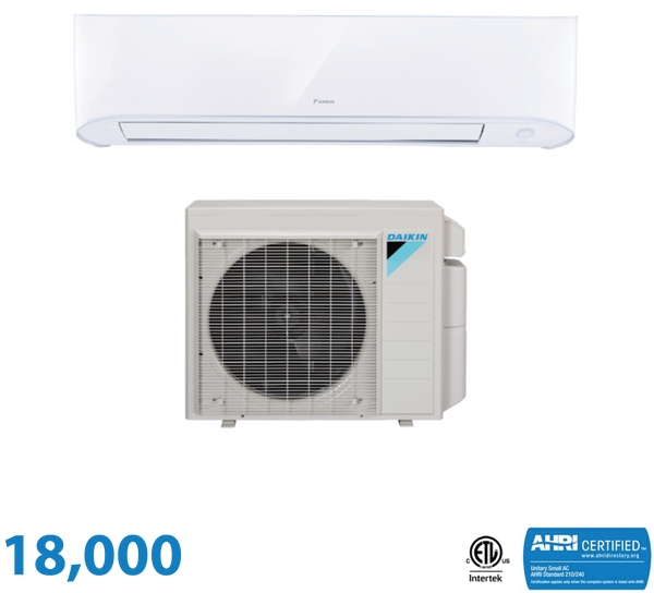 Daikin 18,000 BTU 17 Series Wall Mounted Heat Pump System