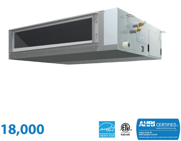 Daikin 18,000 BTU Mid-Static Slim Duct Unit