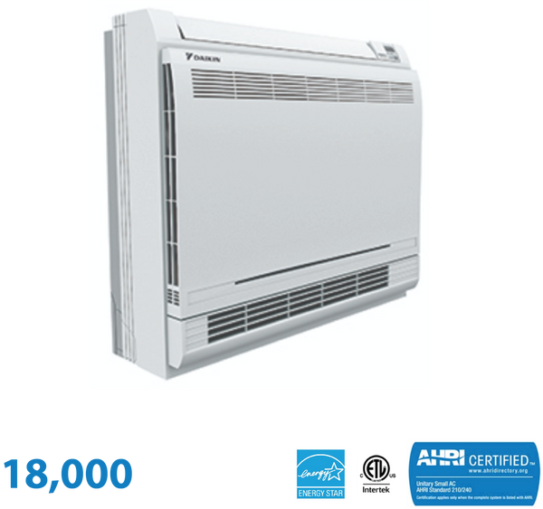 Daikin 18,000 BTU Enhanced Floor Mounted Unit