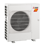 Mitsubishi H2i 20,000 BTU 2-Zone Heat Pump Unit with Hyper Heat