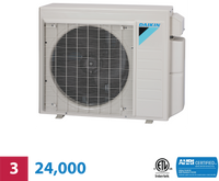 Daikin 3-Zone 24,000 BTU Heat Pump Unit