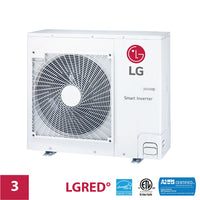 LG 3-Zone 24,000 BTU Outdoor LGRED Unit