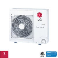 LG 3-Zone 24,000 BTU Outdoor Unit