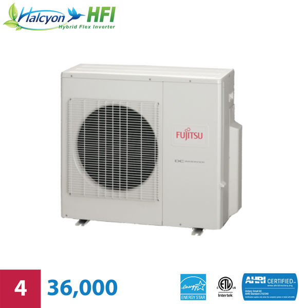 Fujitsu 4-Zone 36,000 BTU Outdoor Unit