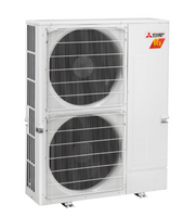 Mitsubishi H2i 36,000 BTU 4-Zone Heat Pump Unit with Hyper Heat