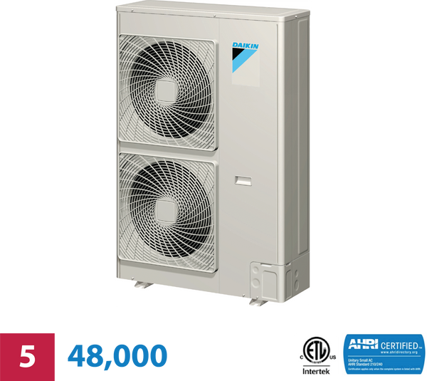 Daikin 5-Zone 48,000 BTU Heat Pump Unit