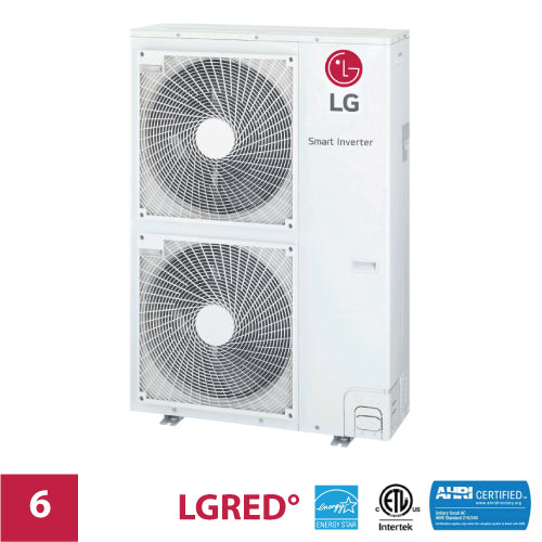 LG 6-Zone 42,000 BTU Outdoor LGRED Unit