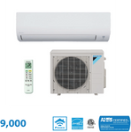 Daikin 9,000 BTU Aurora Series 20 SEER Wall Mounted Heat Pump System