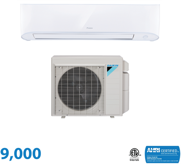 Daikin 9,000 BTU 17 Series Wall Mounted Heat Pump System