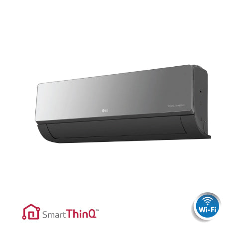 LG Art Cool Mirror 9,000 BTU Wall Mounted Unit With WiFi