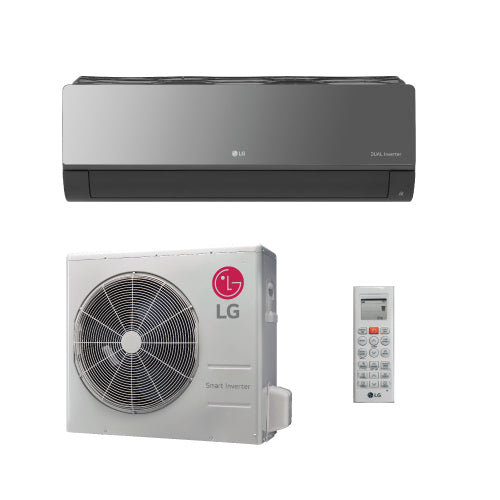 LG Art Cool Mirror 24,000 BTU 20.0 SEER Wall Mounted Heat Pump System