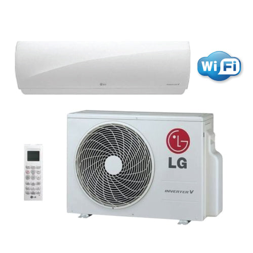 LG LGRED 9,000 BTU 27.5 SEER Low-Temperature Wall Mounted Heat Pump System