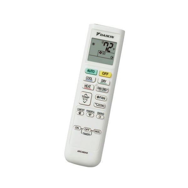Daikin Wireless Remote Controller - BRC082A42(S)(W) Silver, or White