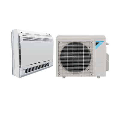 Daikin Ductless 15K Enhanced Floor Mounted System