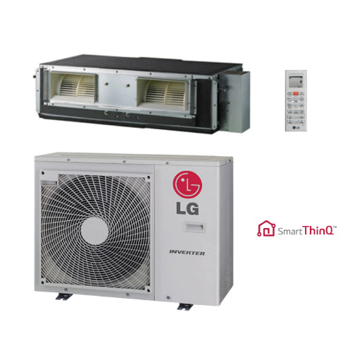 LG 24,000 BTU 17 SEER High Static Ducted Heat Pump System
