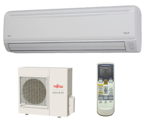Fujitsu 24,000 BTU 19.5 SEER Wall Mounted Heat Pump System