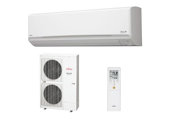 Fujitsu Ductless Wall Mounted 30K High Heat System
