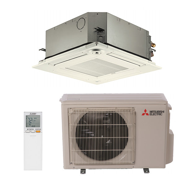 Mitsubishi KF Four Way Cassette Heat Pump System