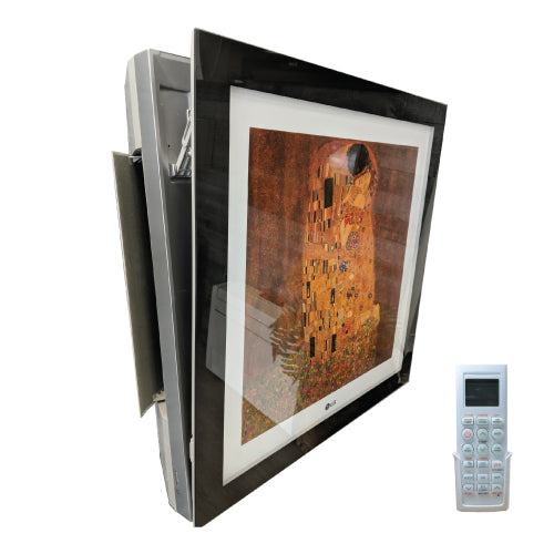 LG Picture Frame 9,000 BTU Wall Mounted Unit