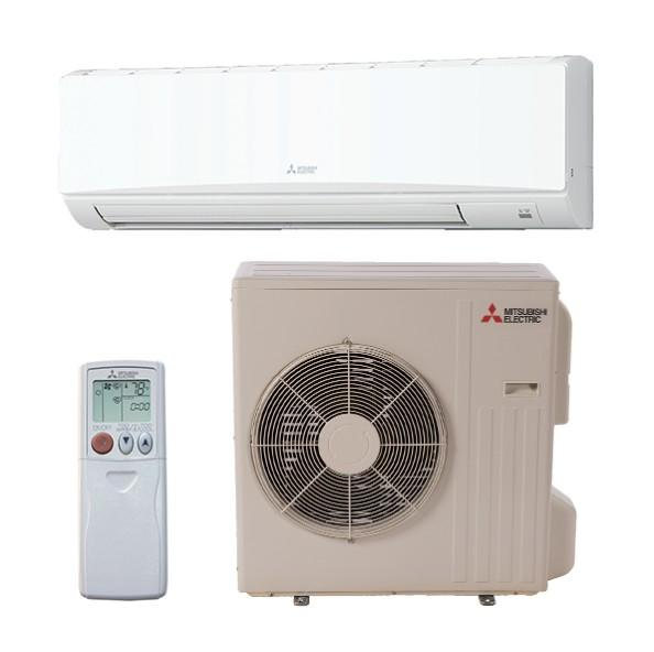 Mitsubishi Ductless 30K System