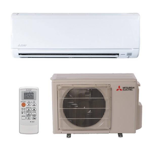 Mitsubishi Ductless 12K System