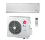 LG Mega 12,000 BTU 17 SEER Wall Mounted 115V Heat Pump System