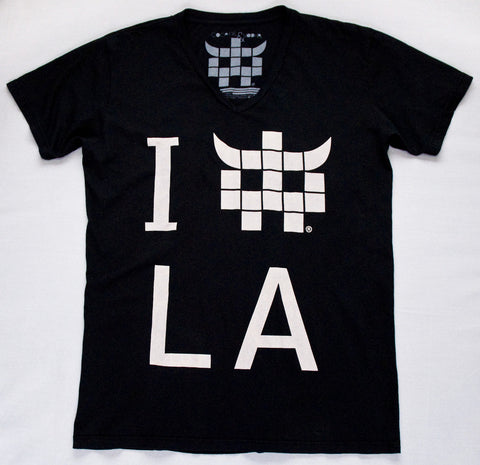 Pitch Black LA Logo Tee