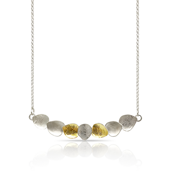 FOGLIE BAR NECKLACE