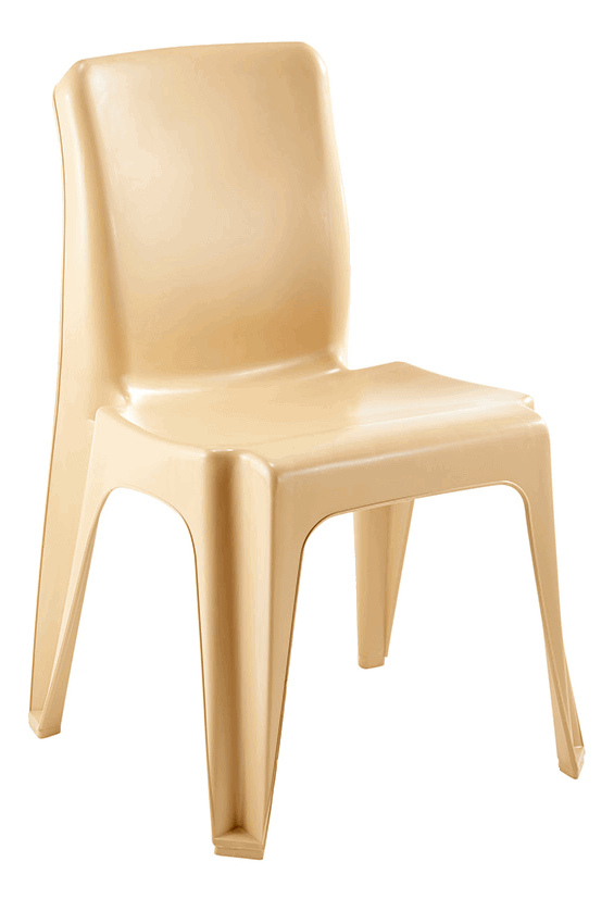 Maxi Chair Virgin Plastic Beige - SPECIAL (R107.00 For 100 & Over)