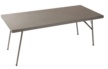 Heavy Duty Steel Trestle Table