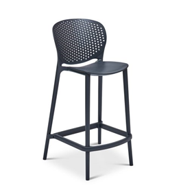 M52 Bar Chair - Black