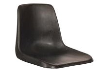 Polyshell Seat Only - Recycled - Black