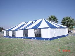 PVC Marquee Tent  20m x 20m