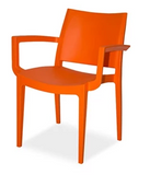 Wanda Chair - With Arms - Choose Colour