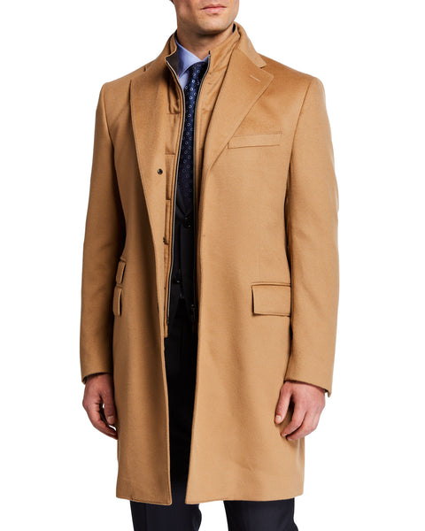 Corneliani - Topcoat w/ Removable Dickey