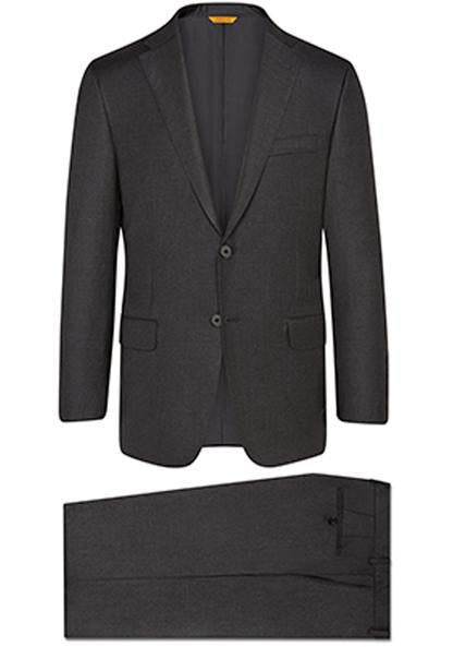 Hickey Freeman - Charcoal Tasmanian B-Fit Suit