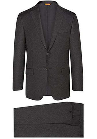 Hickey Freeman - Charcoal Tasmanian A-Fit Suit