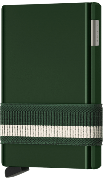 Secrid Wallets - Cardslide Green