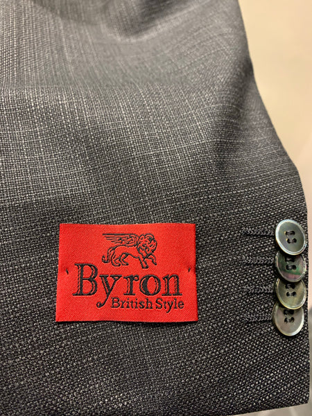 Byron - Textured Steel Jacket