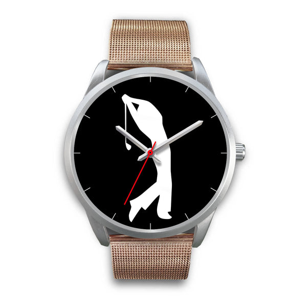 Silver Full Swing Golf Watch