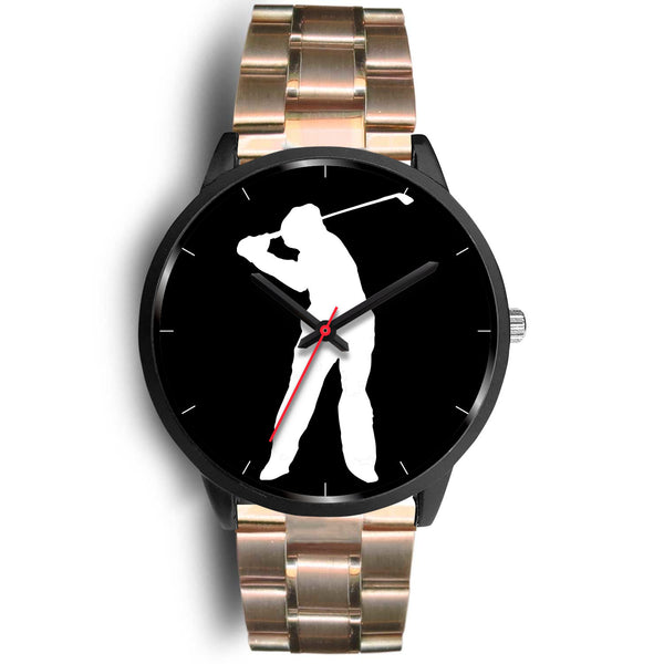 Legends Series Black Golf Watch - Hogan