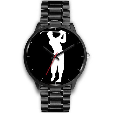 Legends Series Black Golf Watch - Nelson