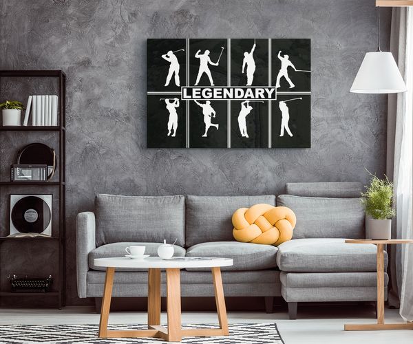 Legends of the Game Canvas Print Wall Art