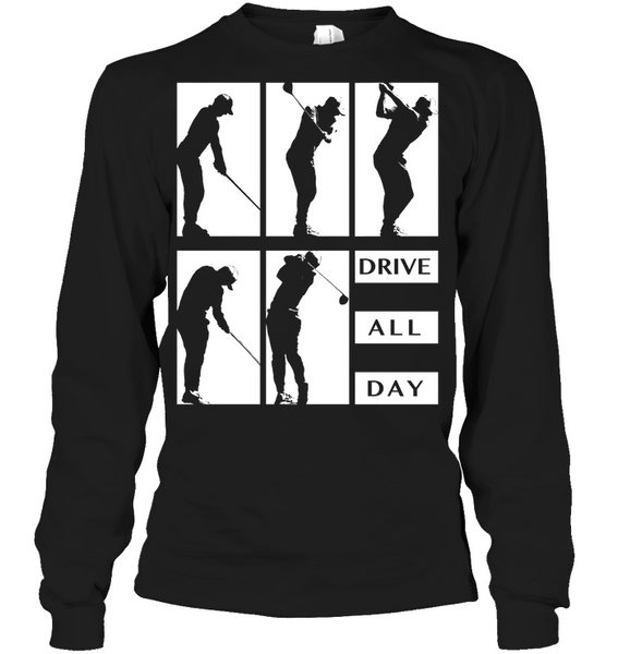 Drive All Day Golf T-Shirt