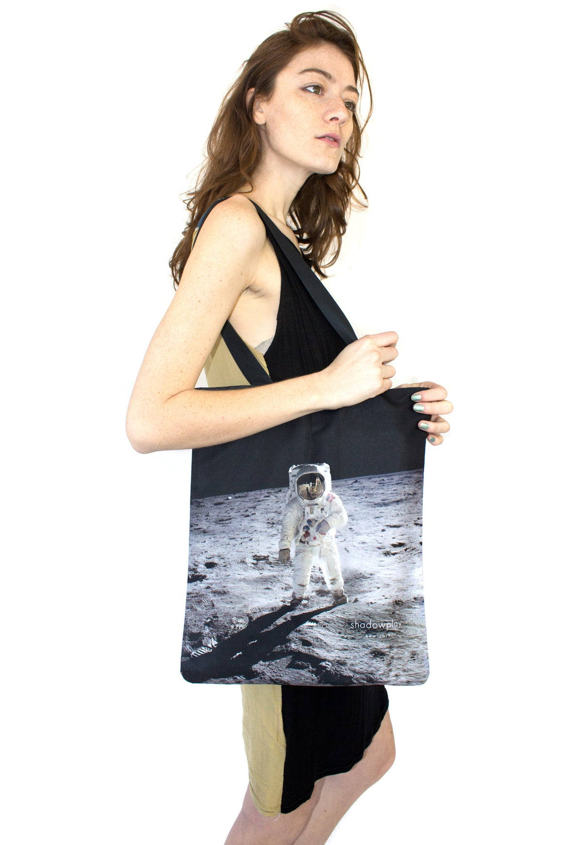 Apollo Tote, Shadowplay New York, Galaxy Print Clothing