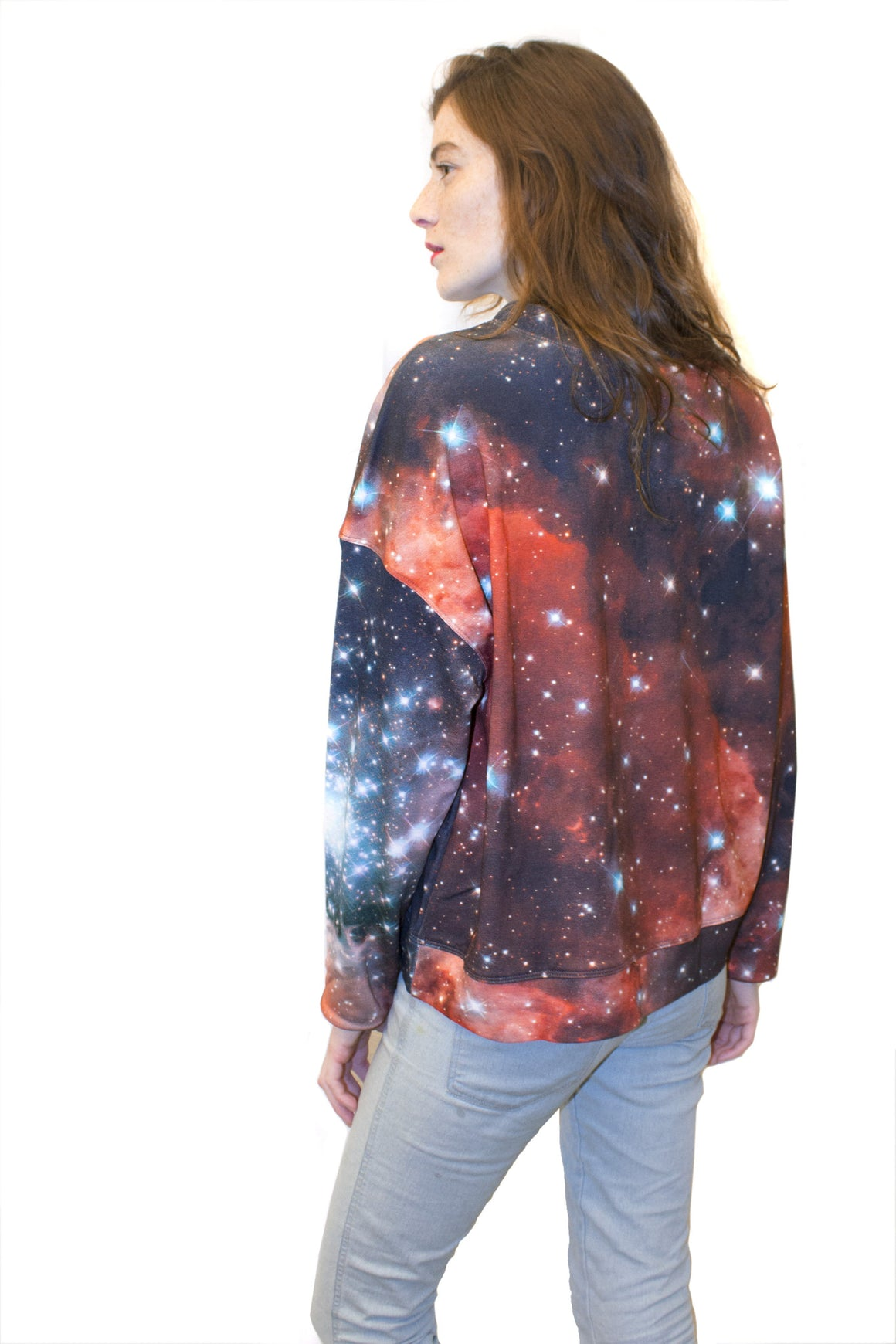 Crimson Galaxy Sweatshirt