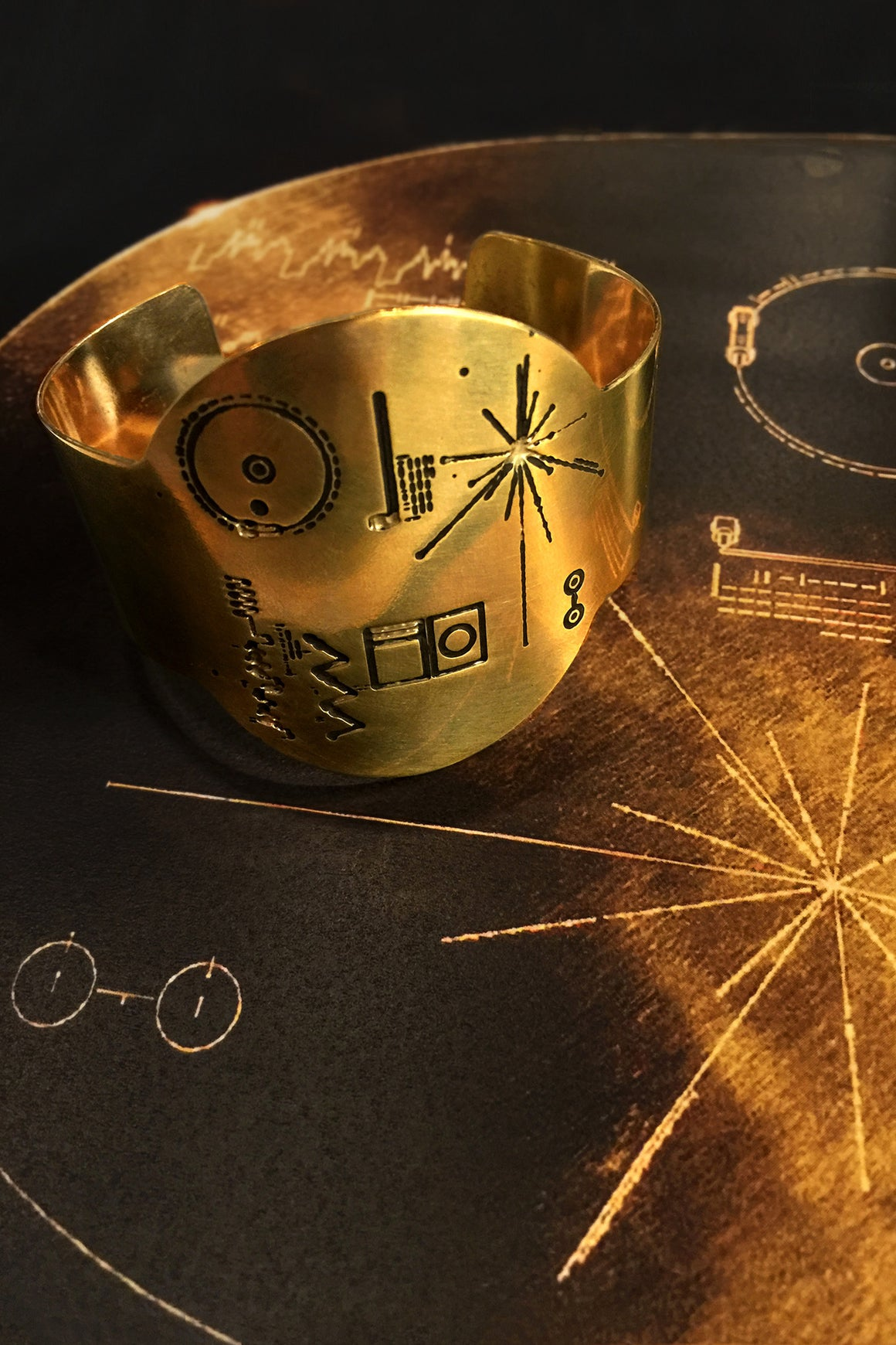 Golden Record Cuff, Shadowplay New Yok