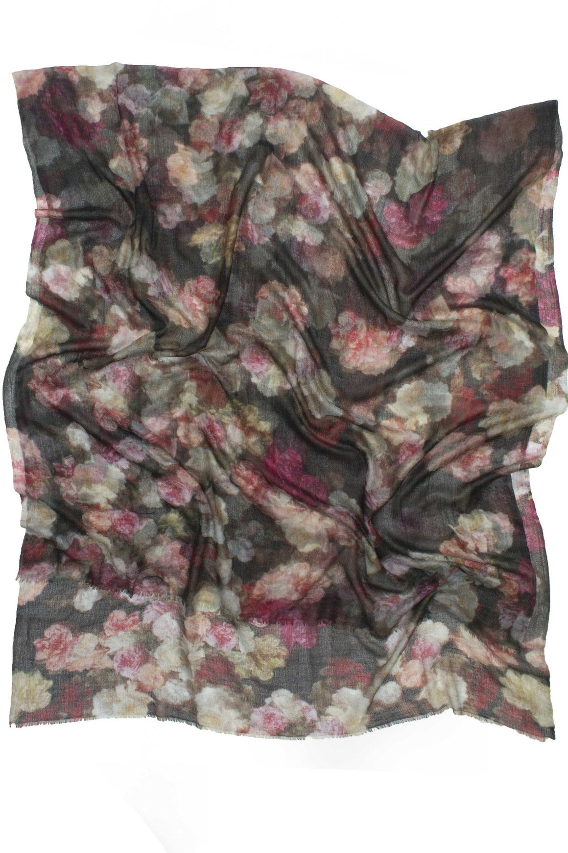 Floral Cashmere Scarf, Shadowplay New York