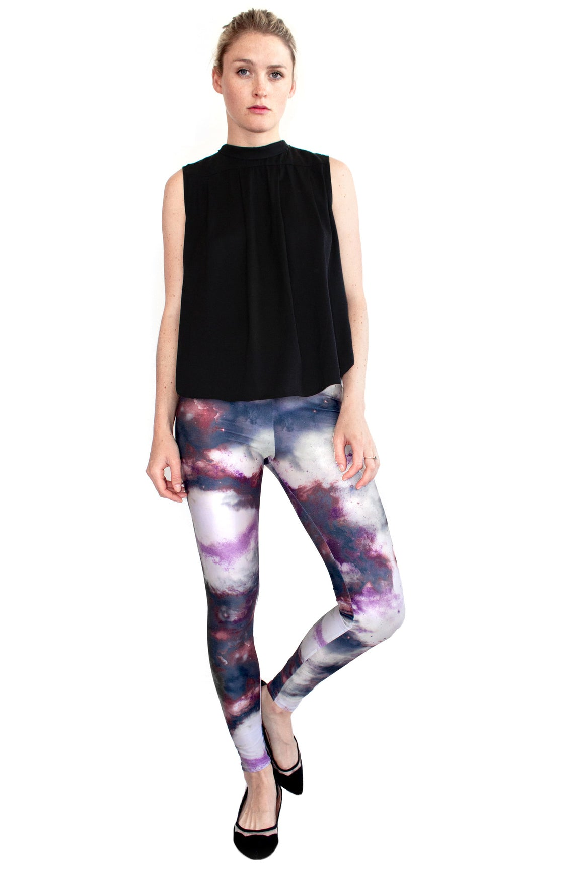 Galaxy Leggings, Shadowplay New York, Galaxy Clothing